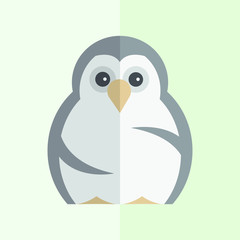 Funny Penguin Vector illustration