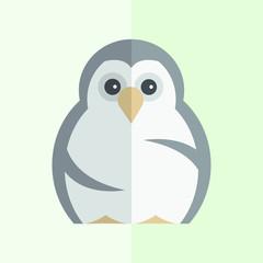 Funny Penguin Vector illustration