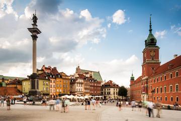 Obraz Plac Zamkowy, Warszawa - fototapety do salonu