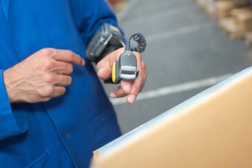 portable laser scanner