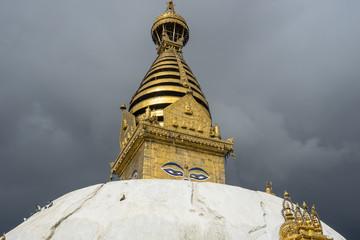Swayambhunath pagoda, Kathmandu city