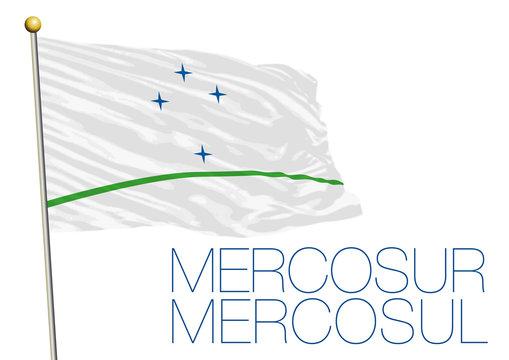 mercosur organization flag