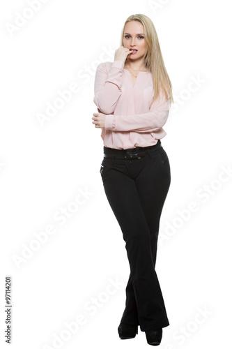 female body language legs