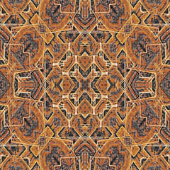 Tribal Intricate Seamless Pattern