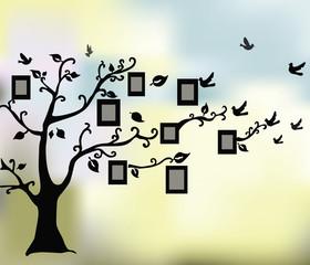 Abstract Magic Tree of Life. Vector