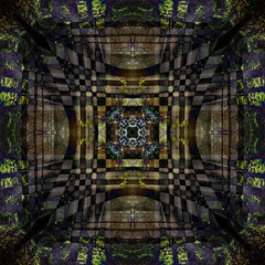 The pattern, Abstracts. Decorative, interlaced lines, the combi