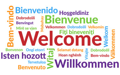 Welcome Wordcloud