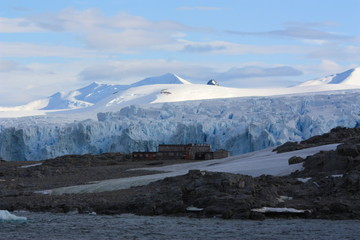 Door stickers Antarctic Stonington Island Antarktika