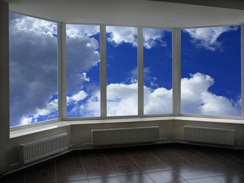 windows overlooking the heaven