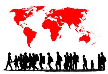 Image result for world wide migration