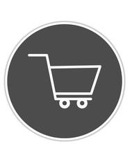 alışveriş arabası ikon