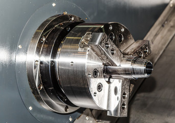 rotating part of the CNC lathe