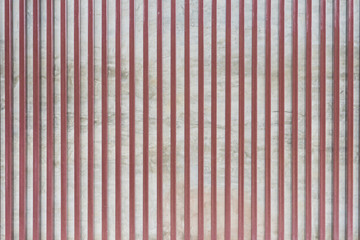 Concrete wall and Steel pattern