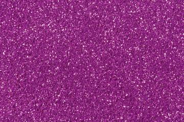 Purple glitter texture.