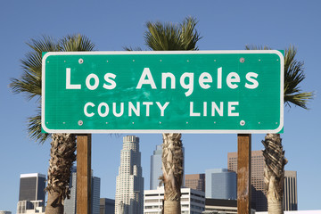 Los Angeles County Sign