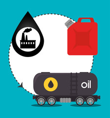 Petroleum industry and oil prices graphic