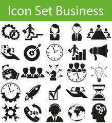 Icon Set Business