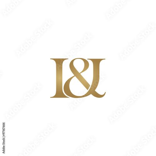 I&I Initial logo. Ampersand mo...