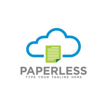 Paperless Cloud logo icon