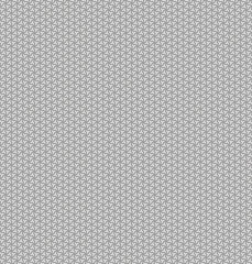 Seamless abstract background - triangular pads. Color gray - middle tone. 3D effect. Vector illustration.