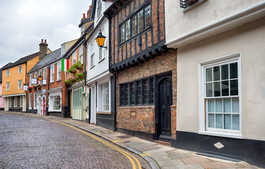 Cobbled Streets of Norwich