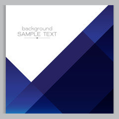 background blue geometric Square with designed elegant abstracti