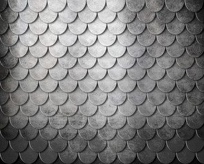 grunge metal scales background