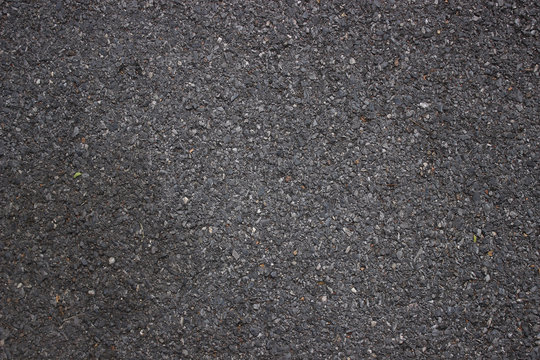 Tarmac road texture for background.