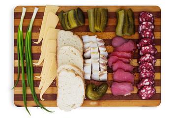 Food; salad; onions; green onion;
