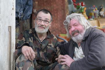 homeless friends