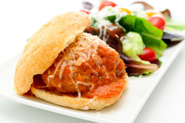 delicious meatball sliders