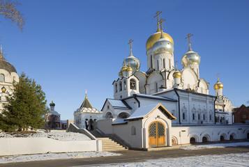 Женский монастырь в Москве