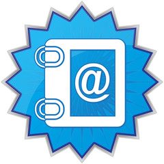 notebook email icon