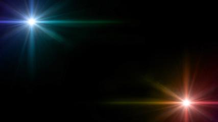twinkle star glow lens flare