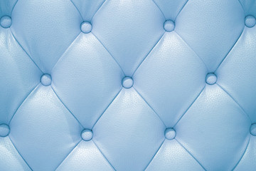 Light blue leather sofa texture