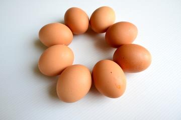 Eggs in Flower Form