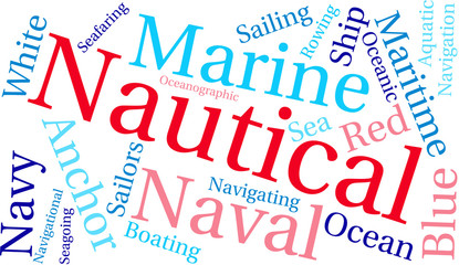Nautical Word Cloud