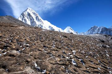 Fotobehang - Pumori Peak - Nepal