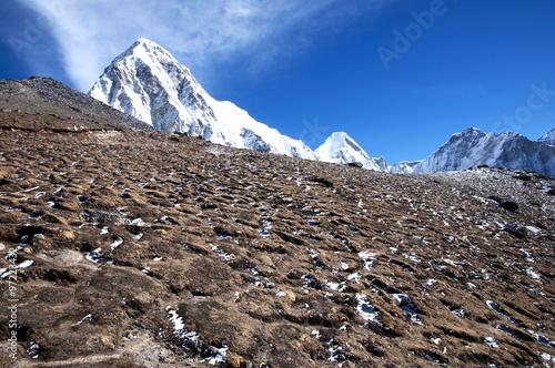 Fotobehang Pumori Peak - Nepal