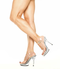 Female legs in High Heels Shoes, XXXL image