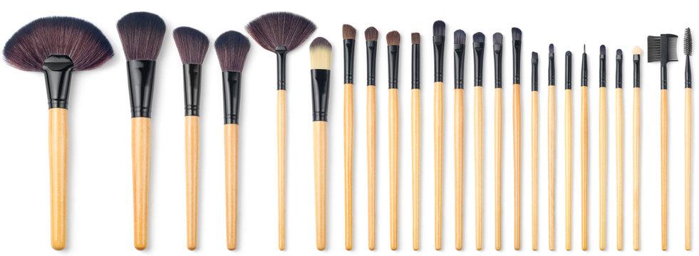 Makeup Brush Set, 24 pieces