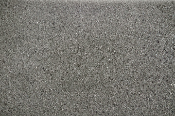 Black sponge/Texture background of black sponge.