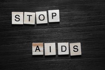 Stop aids concept