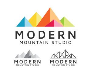 Modern Mountain Studio Logo