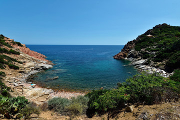 Sardinien - Badebucht in Arbatax