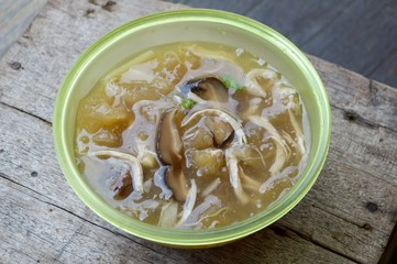 braised fish maw - Thailand healthy food