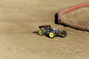 rc model rally race