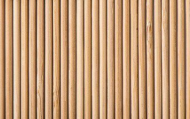 Bamboo mat texture or background, bamboo brown.
