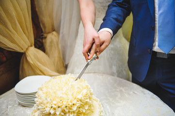 Tradition of Cutting Cake