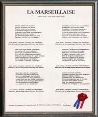 La Marseillaise, hymne national de la France